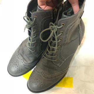 ブーツ グレー(ブーツ)
