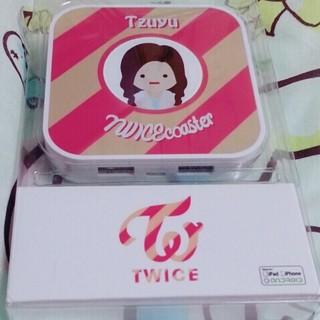 ウェストトゥワイス(Waste(twice))のTWICE♡モバイルバッテリー♡ツウィちゃん(K-POP/アジア)