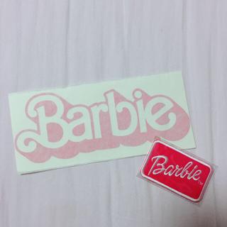 バービー(Barbie)のBarbie ワッペン&シール(その他)