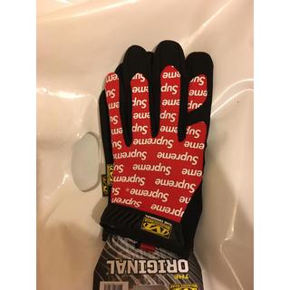 シュプリーム(Supreme)の17ss Supreme Work Gloves ワークグローブ 赤 red 黒(手袋)