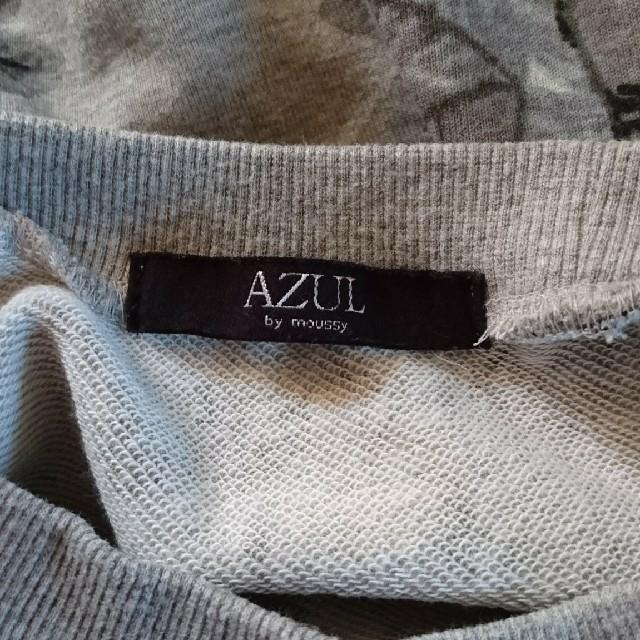 AZUL by moussy(アズールバイマウジー)のおはな様専用 アズール トレーナー スウェット トップス 花柄 レディースのトップス(トレーナー/スウェット)の商品写真