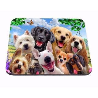 犬 いぬ イヌ 犬マウスパッド 新品未使用品 送料無料(犬)