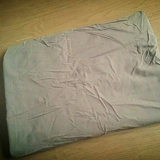 ムジルシリョウヒン(MUJI (無印良品))の掛け布団カバー シングルサイズ(シーツ/カバー)