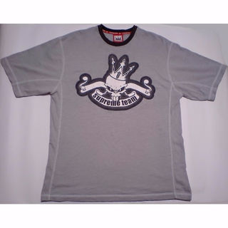 ダダ(DADA)の男L DADA Supreme ダダシュプリーム プリントTシャツ グレー(Tシャツ/カットソー(半袖/袖なし))