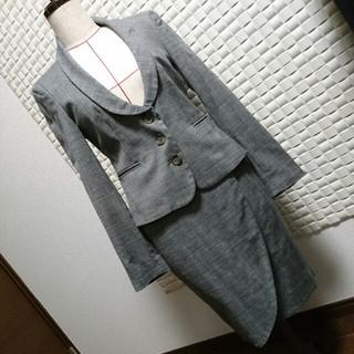 レッドヴァレンティノ(RED VALENTINO)のセール♥【RED VALENTINO】ウール混スーツ 40 グレー(スーツ)