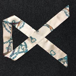 ツイリースカーフ リボンスカーフ バッグスカーフ 1(バンダナ/スカーフ)