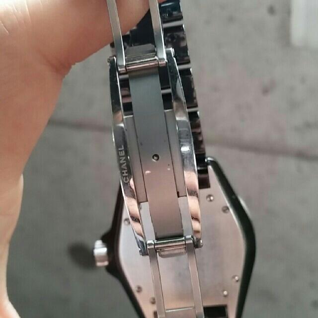 CHANEL(シャネル)の※(11月1日23時59迄)CHANEL J12 黒セラミック メンズ メンズの時計(腕時計(アナログ))の商品写真