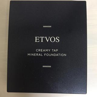 エトヴォス(ETVOS)のETVOS クリーミィタップミネラルファンデーション(ファンデーション)