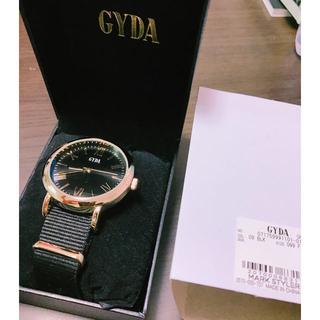 ジェイダ(GYDA)のGYDA ノベルティー(腕時計)