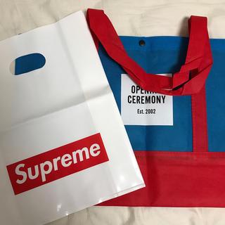 オープニングセレモニー(OPENING CEREMONY)のsupreme OC ショッパーセット(ショップ袋)