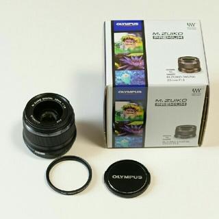オリンパス(OLYMPUS)の  hiro専用 M.ZUIKO 25mm F1.8 [ブラック] オマケ付き(レンズ(単焦点))