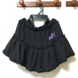 ジディー(ZIDDY)のZIDDY ジディ ミニスカート 130cm 子供用 ブラック BEBE(スカート)