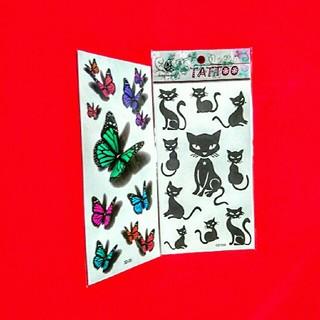 タトゥーシール(2点セット)(小道具)