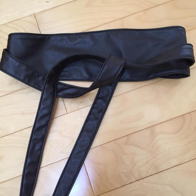 GU(ジーユー)のみさき様専用 GU サッシュベルト ダークブラウン レディースのファッション小物(ベルト)の商品写真