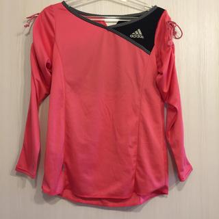 アディダス(adidas)のテニス用長袖Tシャツ(ウェア)