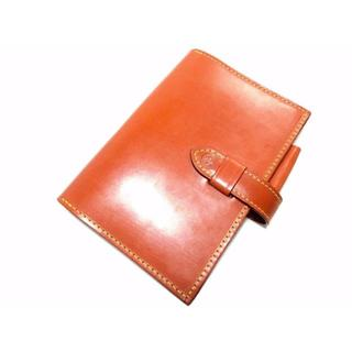 グレンロイヤル(GLENROYAL)のグレンロイヤル フルブライドルレザー 手帳カバー タン 薄茶(手帳)