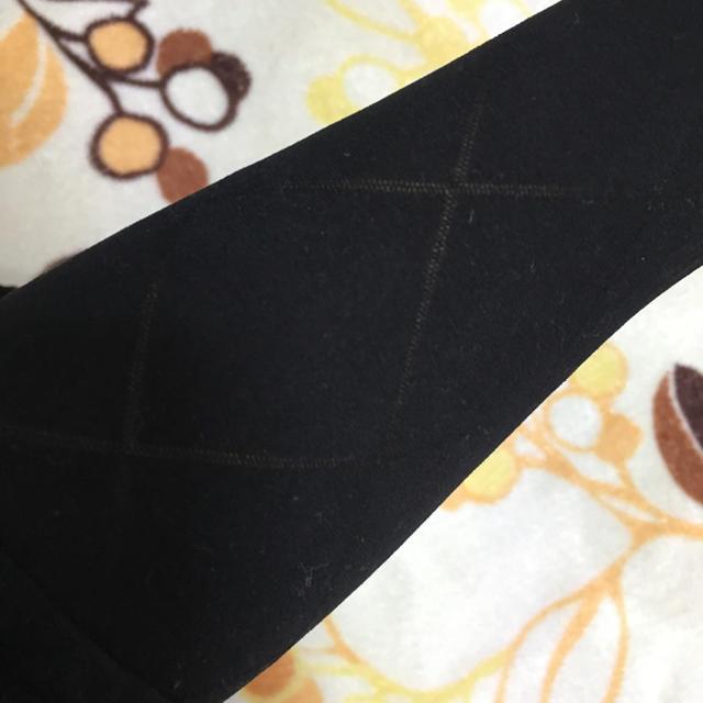 黒タイツ ストッキング 中古 使用感あり。 レディースのレッグウェア(タイツ/ストッキング)の商品写真