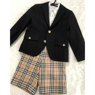 dbc80ae4ccb2a バーバリー(BURBERRY) 子供 ドレス フォーマル(男の子)(シルバー 銀色系 ...