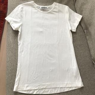 ジルサンダー(Jil Sander)のジルサンダー jil sander 白ティーシャツ@お値下げ不可(Tシャツ(半袖/袖なし))