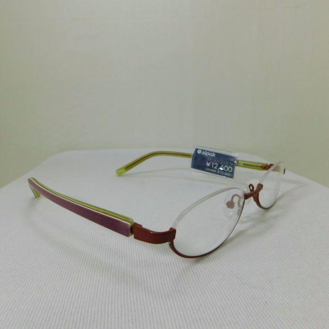 アルク★おしゃれなレッド&イエロー★アンダーリム★未使用 D19 M メンズのファッション小物(サングラス/メガネ)の商品写真