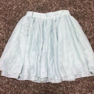 ローリーズファーム(LOWRYS FARM)のパステルグリーン スカート(ミニスカート)