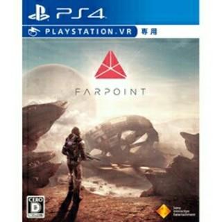 プレイステーションヴィーアール(PlayStation VR)の【美品】ファーポイント FAR POINT ps4vr(家庭用ゲームソフト)