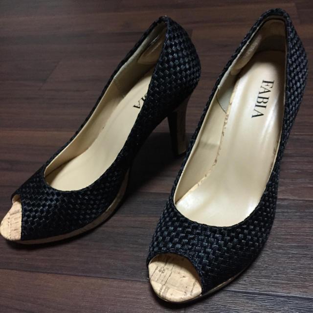 FABIA パンプス 新品未使用 Sサイズ レディースの靴/シューズ(ハイヒール/パンプス)の商品写真