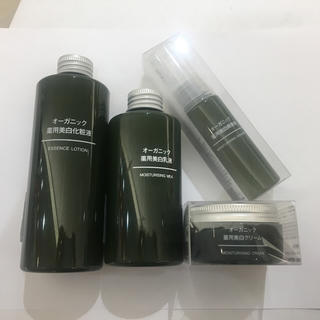 ムジルシリョウヒン(MUJI (無印良品))の無印良品 スキンケア 4点セット 新品(化粧水 / ローション)