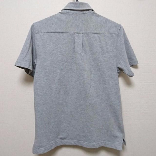 グレー鹿の子ポロシャツ:無印良品 先日タンクを買った時に一緒に アゲ