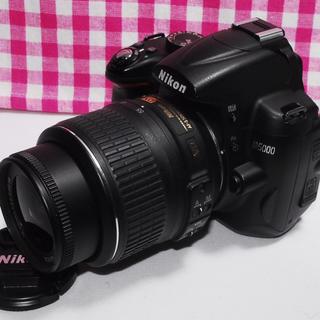 ニコン(Nikon)の❤Wi-Fi対応❤ 大切な思い出を綺麗に残したい Nikon D5000(デジタル一眼)
