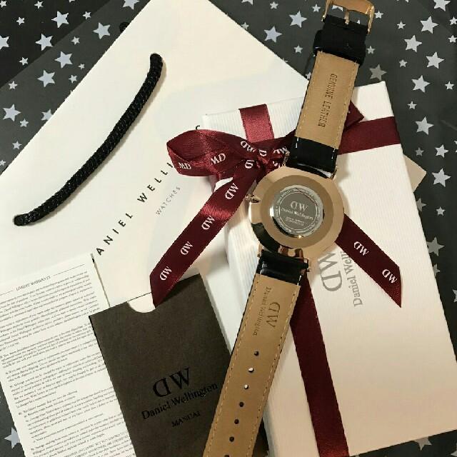 Daniel Wellington(ダニエルウェリントン)のクロコ柄◆◇おすすめ♪♪ダニエルウェリントンブラック腕時計 メンズの時計(腕時計(アナログ))の商品写真