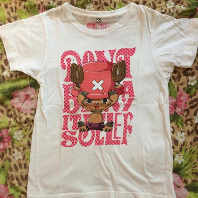 BANDAI(バンダイ)の☆ワンピース☆チョッパーTシャツ☆ レディースのトップス(Tシャツ(半袖/袖なし))の商品写真