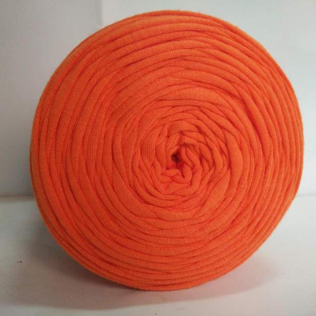 オレンジ【DODOtshirtyarn】 ハンドメイドの素材/材料(生地/糸)の商品写真