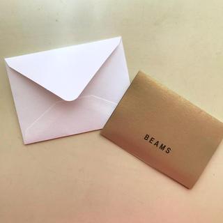 ビームス(BEAMS)のBEAMS ミニレターセット(カード/レター/ラッピング)