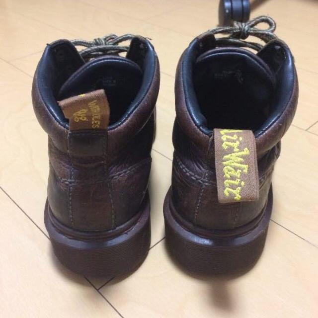 Dr.Martens(ドクターマーチン)のDr.martens ドクターマーチン レザー ワークブーツ ブラウン 茶 メンズの靴/シューズ(ブーツ)の商品写真