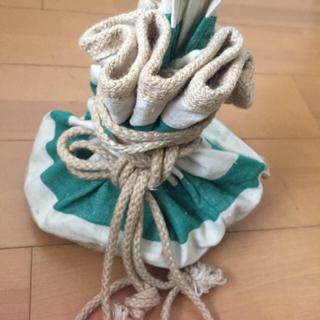 ナナミカ(nanamica)のナナミカ購入 2way bag ボーダー リネン (ハンドバッグ)