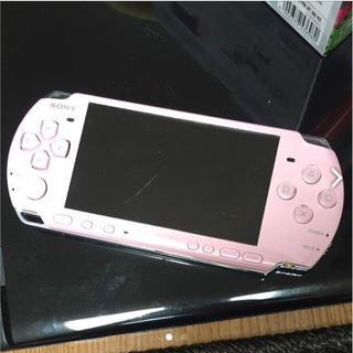 プレイステーション(PlayStation)の【うのさん専用】PSP ピンク(携帯用ゲーム機本体)
