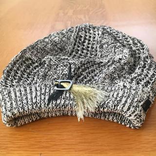 トゥモローランド(TOMORROWLAND)のりょう様専用♡ミサハラダベレー帽とブラウンリボンベレー帽(ハンチング/ベレー帽)