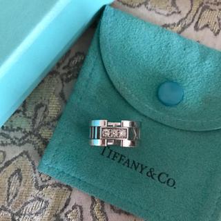 ティファニー(Tiffany & Co.)のティファニー アトラスオープンリング 3粒ダイヤ付き 定価318,600円(リング(指輪))