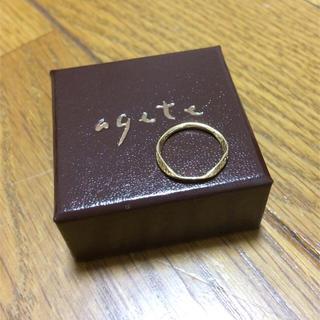 アガット(agete)のagete アガット ピンキーリング 1号(リング(指輪))