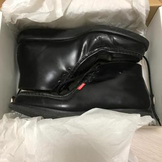ベドウィン(BEDWIN)のベドウィン レザーブーツ ブラック 27 bedwin 黒(ブーツ)