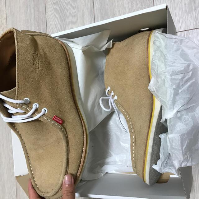BEDWIN(ベドウィン)のベドウィン ELWOOD ベージュスエードブーツ bedwin  メンズの靴/シューズ(ブーツ)の商品写真