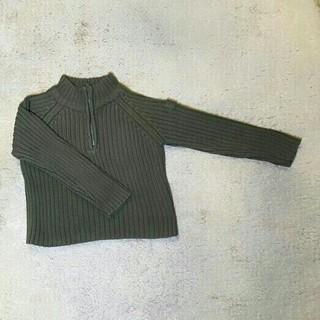 ザラ(ZARA)のZARA長袖ジップアップニット90サイズ(ニット)