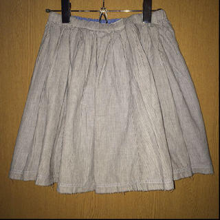 マーキュリーデュオ(MERCURYDUO)のmercuryduoストライプスカート(ミニスカート)