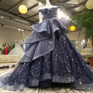 星ような、上品豪華ウェディングドレス(ウェディングドレス)