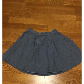ディップドロップス(Dip Drops)のデニム風スカート(ひざ丈スカート)