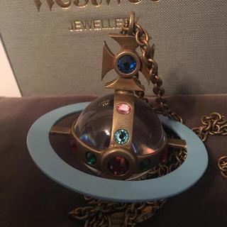 ヴィヴィアンウエストウッド(Vivienne Westwood)の⭐️付属品付き ジャイアントオーブ ネックレス ヴィヴィアンウエストウッド(ネックレス)