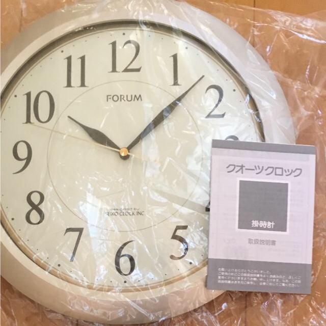 SEIKO(セイコー)のぽやん様 専用 SEIKO 掛け時計 新品・未使用 送料無料 シルバー 箱付き インテリア/住まい/日用品のインテリア小物(掛時計/柱時計)の商品写真