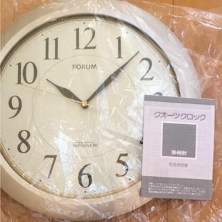 セイコー(SEIKO)のぽやん様 専用 SEIKO 掛け時計 新品・未使用 送料無料 シルバー 箱付き(掛時計/柱時計)