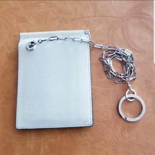 エムワイレーベル(M.Y.LABEL)のM.Y.レーベル マネークリップ二つ折り財布(チェーン付き)(折り財布)